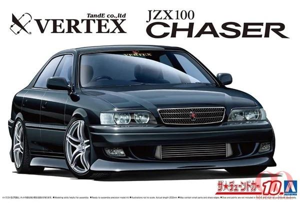 مجموعة ألعاب سيارة أوشيما موديل 1/24 لسيارة تويوتا فيرتكس JZX100 '98 #05981