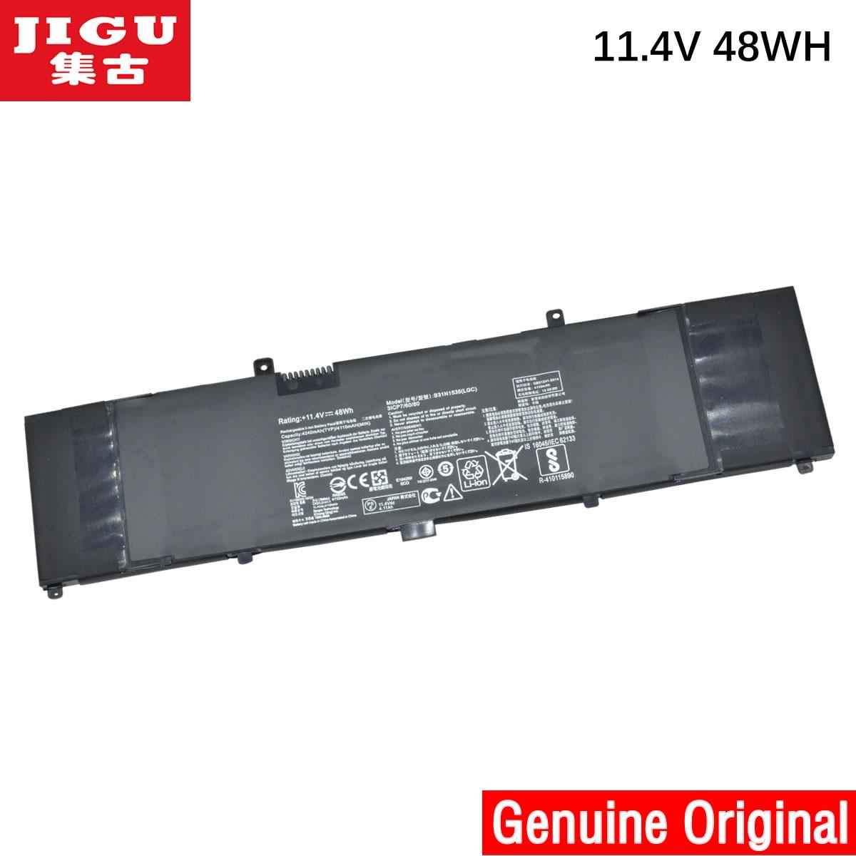 JIGU B31N1535 بطارية كمبيوتر محمول ل ASUS ZenBook UX310 UX310UA UX310UQ UX410 UX410UA UX410UQ U4000U U400UQ RX310U 11.4V 48WH