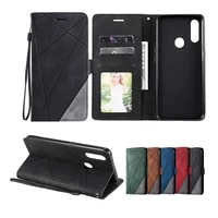 luxury skin leather case for oppo find x2 pro f17 f11 pro realme 5 5s 5i 6 6s 7 7i c3 c3i c11 c12 c15 c17 wallet flip cover