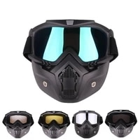 sports helmets adult removable winter snow sports motorcycle goggles ski snowboard snowmobile full face helmets with glasses