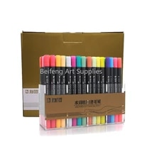 sta 1224364880 color double head soluble colored sketch marker brush pen set for drawing design paints art marker supplies