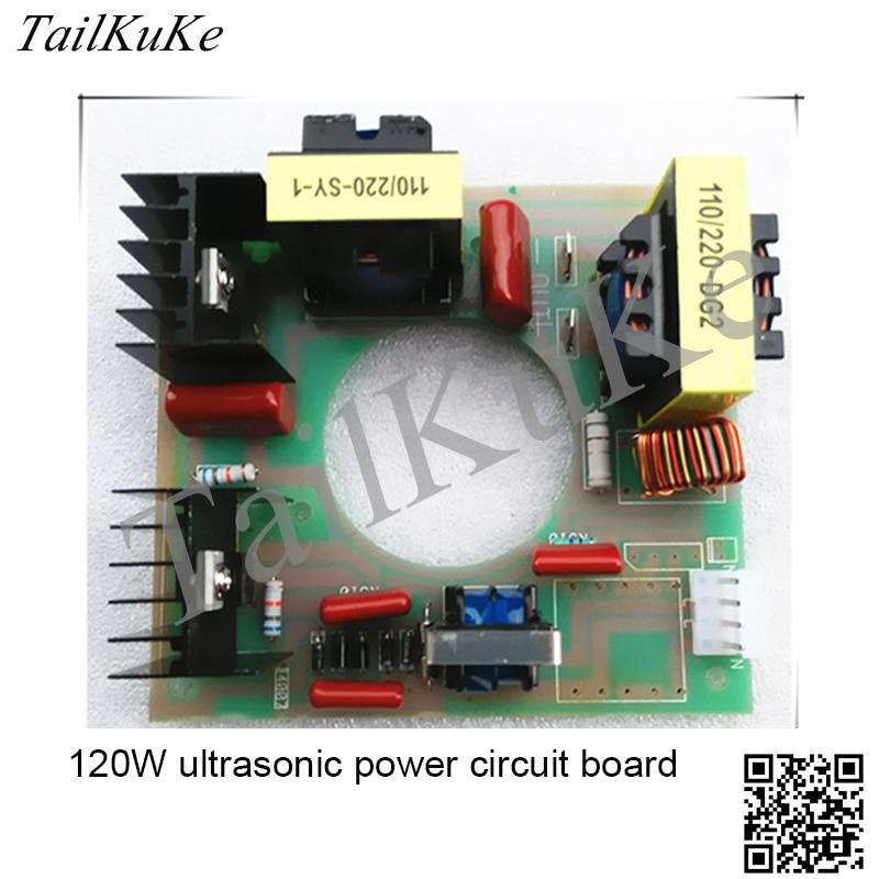 Ultrasonic generator 120W 40KHz ultrasonic cleaner power circuit board