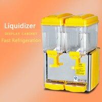 PL-234A Juice Machine Commercial Double Cylinder Colding Juice Machine Buffet Restaurant Western Restaurant Juice Machine