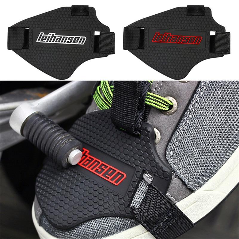 Аксессуары moto rcycle обувь защитная moto cross shift pad dirt pit bike сапоги moto защита обуви шестерни для верховой езды Тормозная крышка