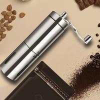hand manual coffee portable grinder adjustable ceramic coffee bean mill stainless steel kitchen mills tools