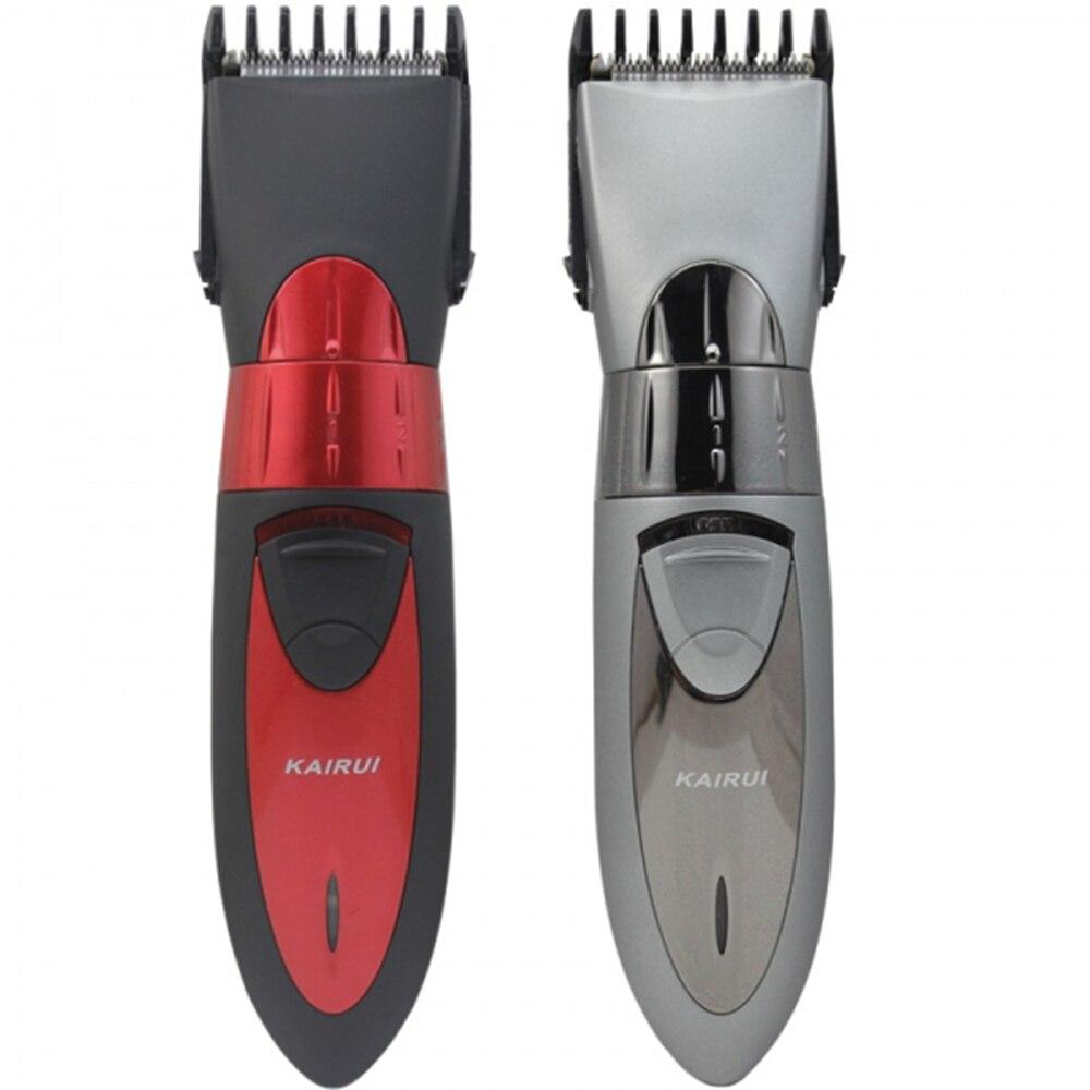 Moda saç kesme, tam su geçirmez, şarj edilebilir, 3 yıl garanti, bebek ve yetişkin için. KAIRUI HC-001 (220V/110V)