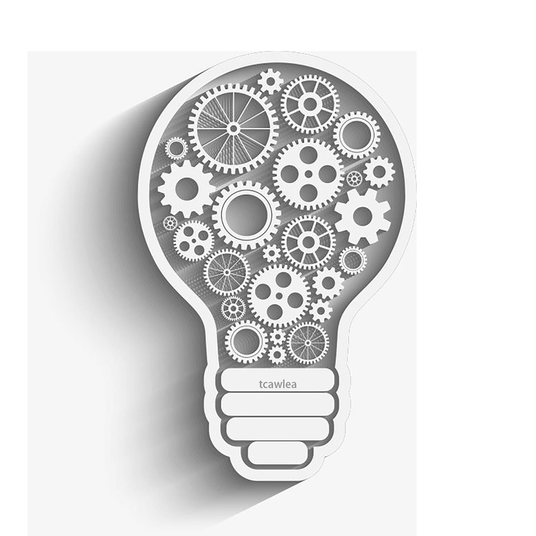 New Smart Gear Bulb Cutting Dies Steampunk Gift Card Making Metal Stencil For DIY Scrapbooking Craft