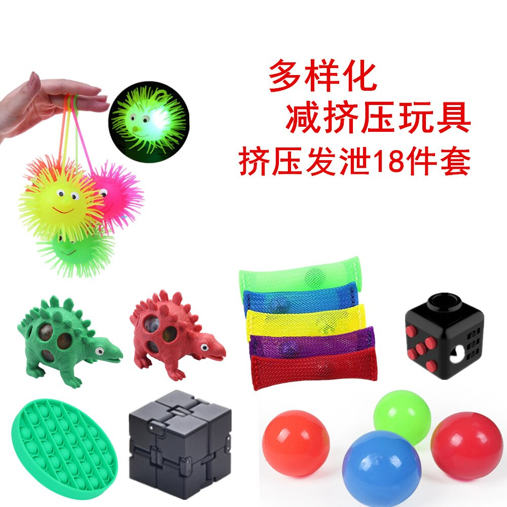 Fidget Toys Pop It Game For Adult Kid Push Bubble popit Sensory Toy Autism Special Needs Stress Reliever Popoit Figet Speelgoed enlarge