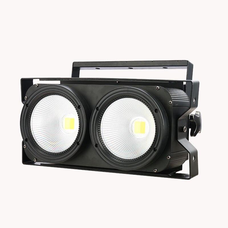200 واط LED COB غسل الجمهور ضوء 2eye 2x100 واط الفيضانات المرحلة ضوء LED مصفوفة بليندر ضوء DMX المرحلة الإرسال لعرض الحفل
