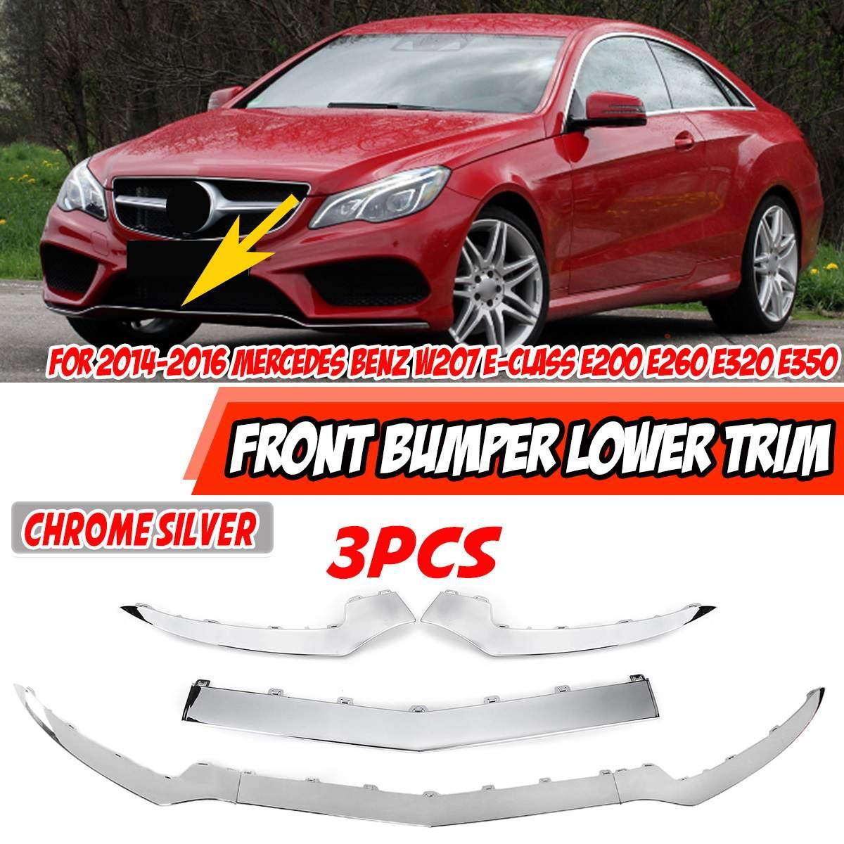 Auto Frontschürze Lip Body Kit Spoiler Splitter Diffusor Abdeckung Für Mercedes Für Benz W207 A207 C207 E-Klasse e320 E350 2014-2016