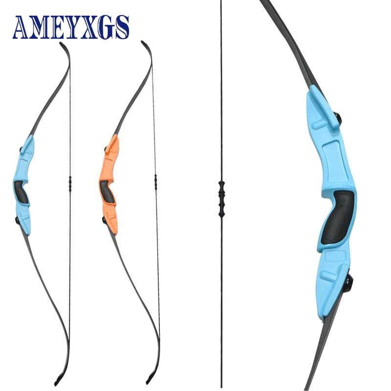 1pc Archery Children's Recurve Bow Boy Toy 54Inch CS Game Bow Draw Length 29