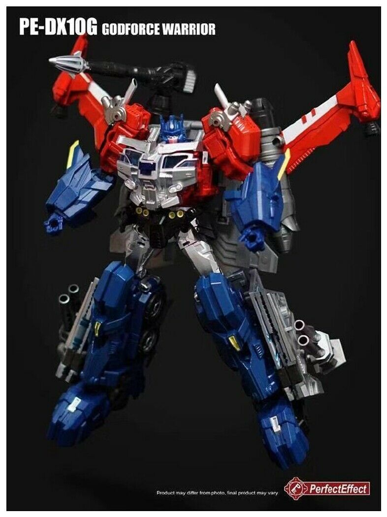 Figura de acción de efecto perfecto de PE PE-DX10G, DX10G, Godforce Warrior, God, Ginrai, transformación, Robot de juguete