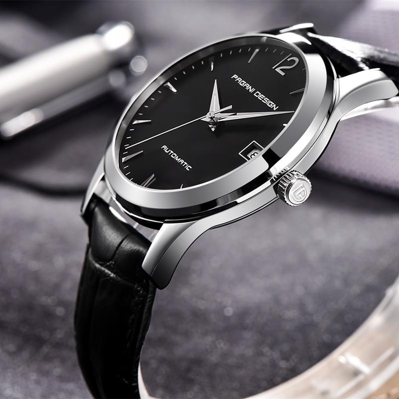 2021 NEW PAGANI DESIGN Top Brand Luxury Men Mechanical Watch Waterproof Leather Casual Business Men Watch Saat Relogio Masculino enlarge