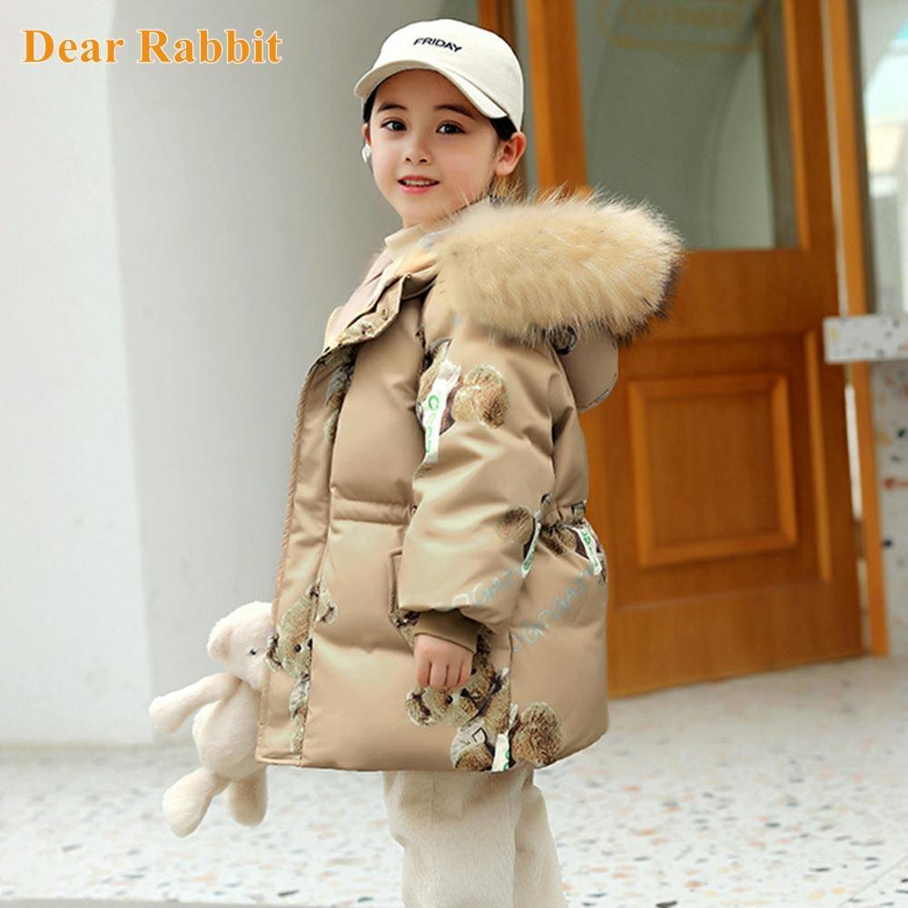 -30 درجة الأطفال أسفل سترة الشتاء سترة للفتيات ملابس ملابس الطفل معطف طويل بدلة التزلج رشاقته الاطفال بدلة الثلوج 1-8 سنوات