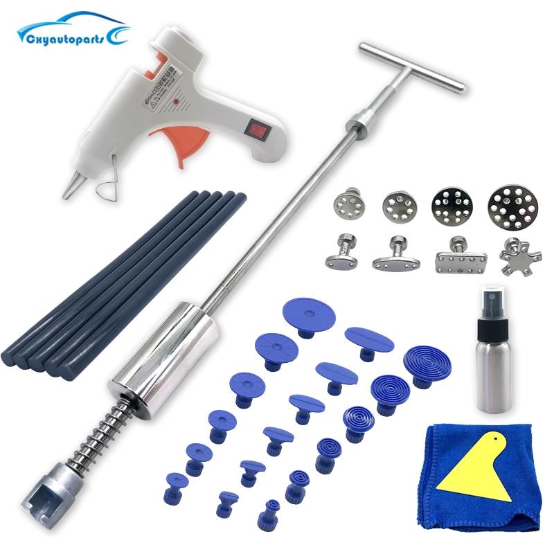 Car body Dent Removal Tool Dent Repair Puller Kit Slide Hammer Suction Cups For Hail Damage Car Dent Repair Tool