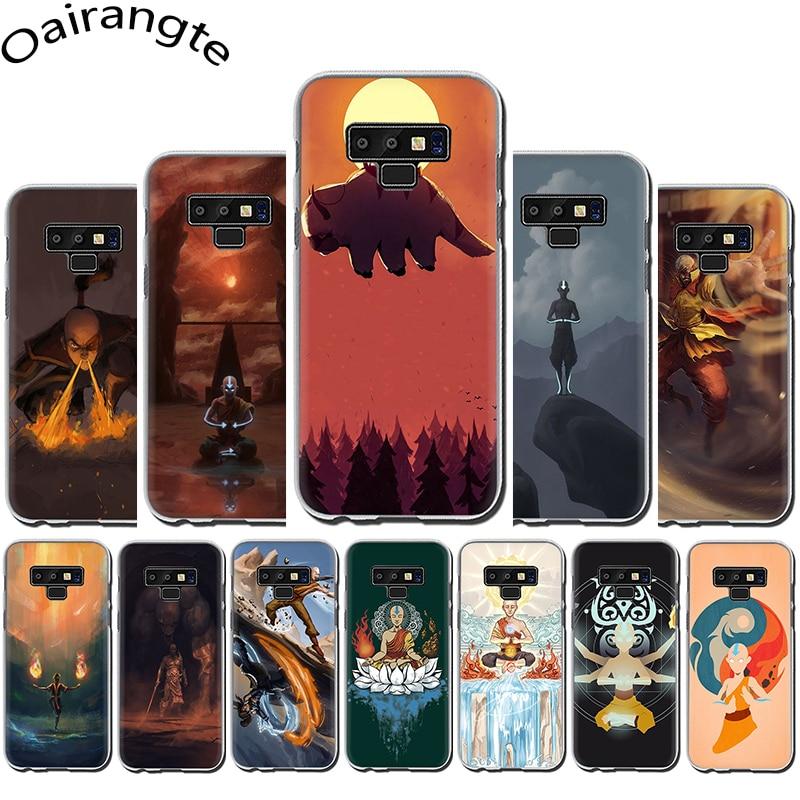 Avatar the Last Airbender Rígido case capa do telefone para Samsung Galaxy A3 5 2017 A6 7 8 9 2018 A10 30 40 50 70
