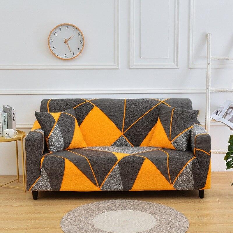 1/2/3/4 fundas elásticas para sofá conjunto cubre sofá fundas elásticas para sala de estar