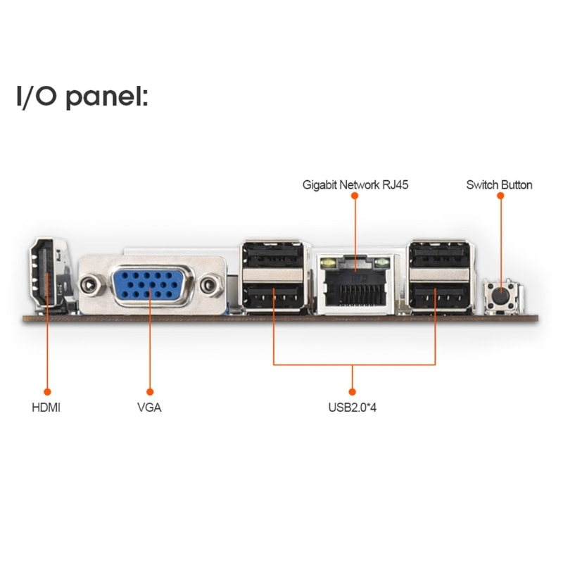 New BTC-S37 Mining Machine Motherboard 8 PCIE 16X Graph Card SODIMM DDR3 SATA3.0 Support VGA + HDMI-Compatible enlarge