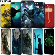 IYICAO Loki Thor Marvel Weichen Silikon Telefon Fall für Xiaomi Redmi 8A 7A 6A 5A K20 S2 4A 4X Hinweis 8 7 6 Pro 5 Plus Schwarz TPU Abdeckung
