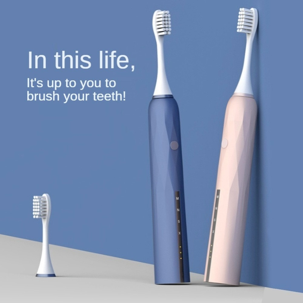 Factory Direct For Household Vibration Soft Bristle Toothbrush Punching Device Ultrasonic Adult Ultrasonic Tooth Cleaner enlarge