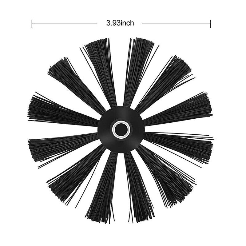 1 * Чистящая Щетка сушилка для волос трубопровод нейлоновая щетка для чистки головы внутренняя стенка масло дымоход машина дымоход (без стержня) Высокое качество