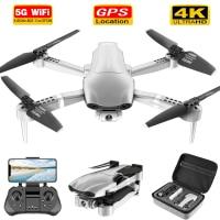2020 Новый F3 Дрон GPS 4K 5G Wi-Fi Видео FPV Квадрокоптер полет 25 минут дистанция rc 500 м Дрон HD широкоугольная двойная камера