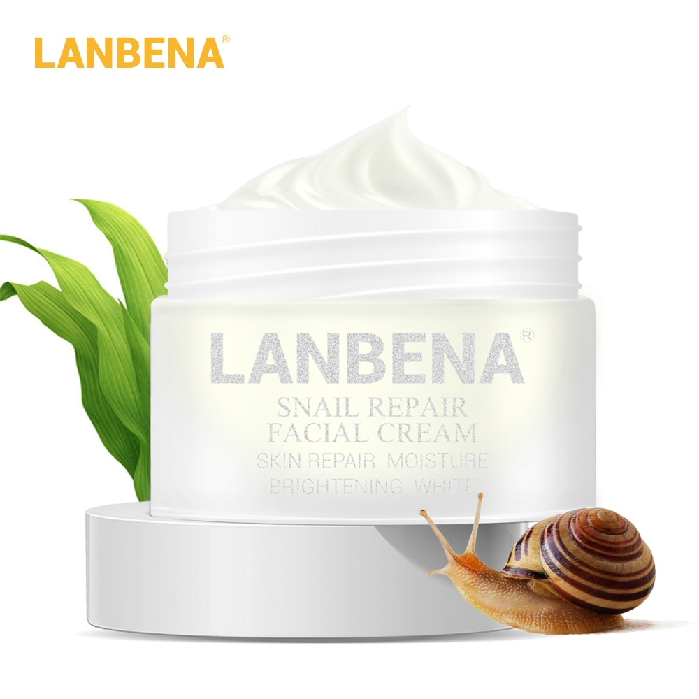 24k peptide cream Snail Repair Whitening Facial Cream Day Anti Wrinkle Anti Aging Acne Treatment Moisturizing Firming Skin Care