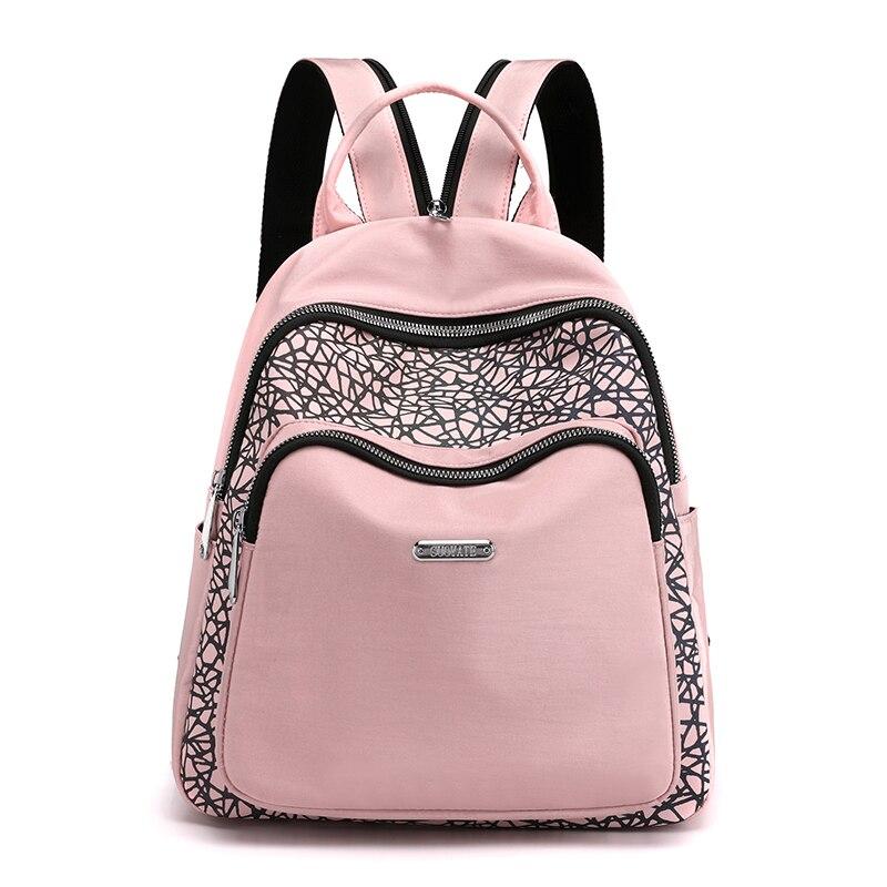 Женский светоотражающий рюкзак, многофункциональные водонепроницаемые Рюкзаки из ткани Оксфорд, дорожный рюкзак, школьные сумки с прострочкой для студентов, лето 2021