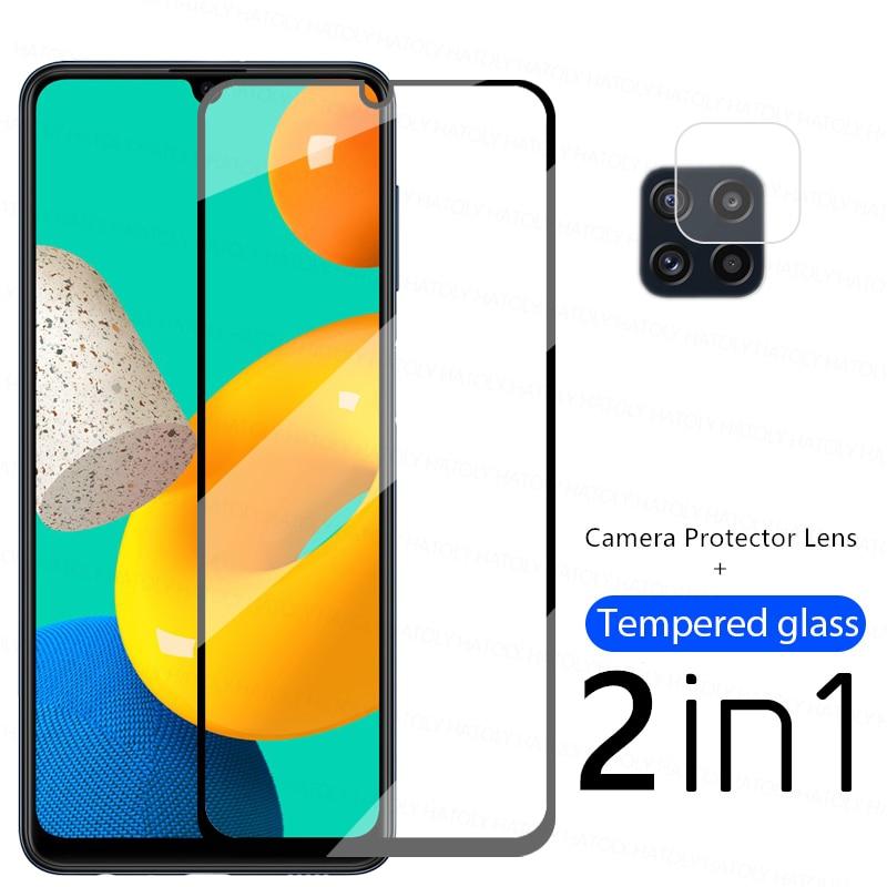 2.5D Screen Protector Voor Samsung Galaxy M32 Glas Voor Samsung M32 Gehard Glas Beschermende Phone Film Voor Samsung Galaxy M32