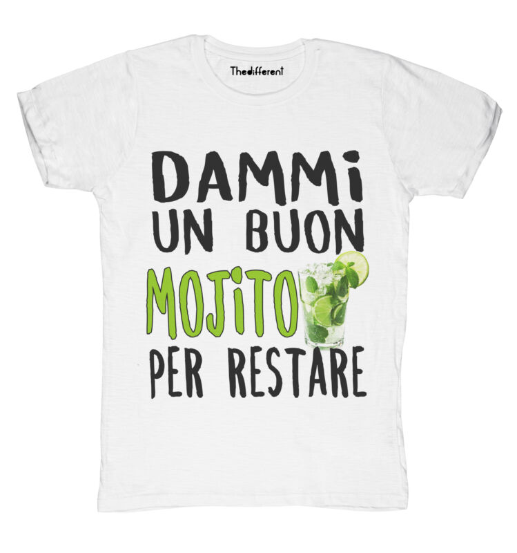 Desde Neu camiseta Feuer Herren Buon Mojito f��r Restare Geschenkidee