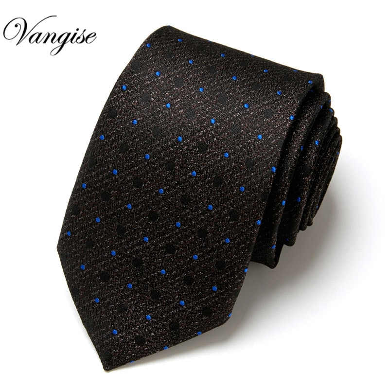 Фото - Italian Design  Dot  Mens Luxury Silk Men Ties Checked Plaid Formal Business Wedding British  cravatte seta italian interior design
