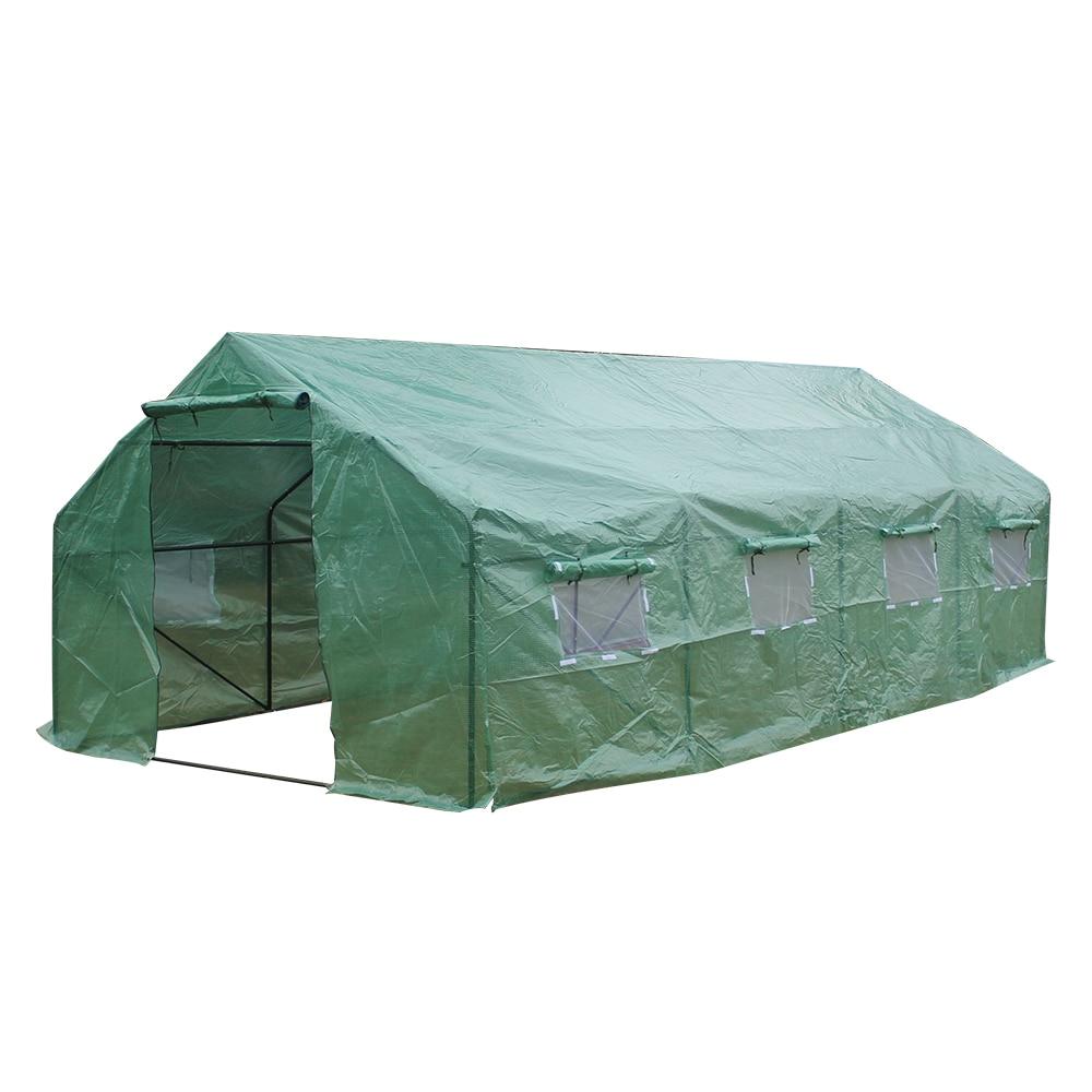 خيمة دفيئة 20 × 10 بوصة × 7 بوصة-ب, للنباتات المضادة للبيوت الزجاجية مسننة