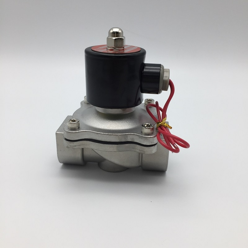 High quality 2WB250-25 stainless steel  big port size water oil fluid solenoid valve enlarge