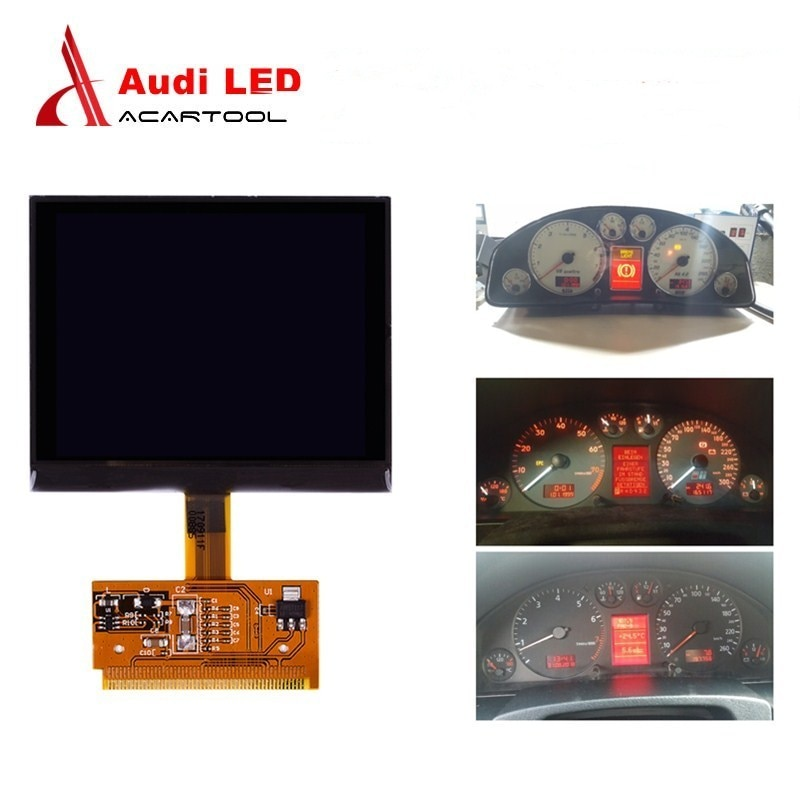 Para Audi LCD VDO pantalla tablero Digital Pixel reparación medidor de instrumentos clúster para Audi A3/A4/A6 para Golf/Passat/Seat