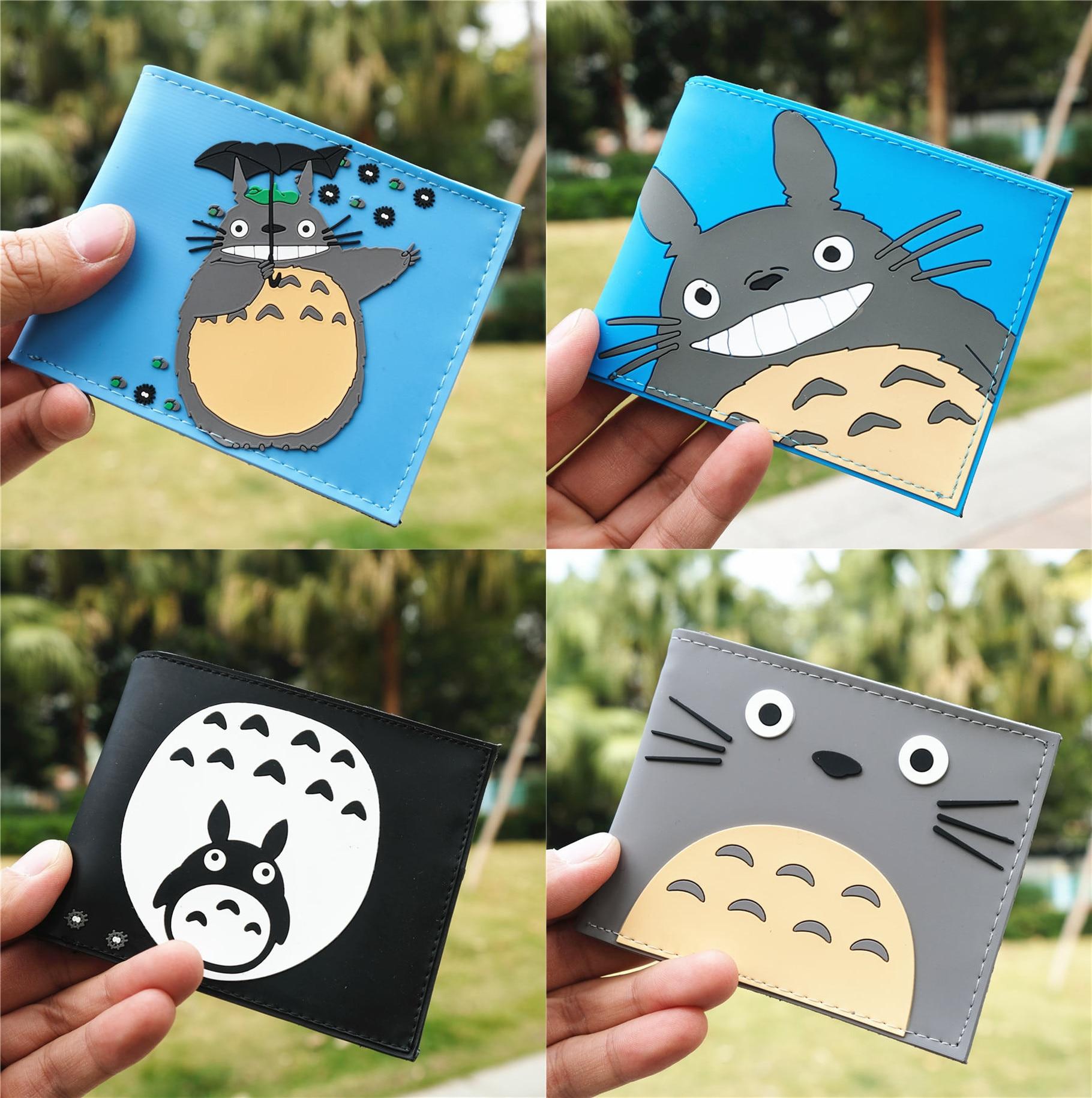 Studio Ghibli mi vecino Totoro moneda PVC Logo cartera bolso titular de la bolsa capa Cool Hot 11,5 cm