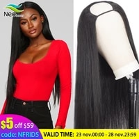 neobeauty brazilianu part wig human hair wigs natural 180 density frontal straight virgin hair wigs human hair for black women