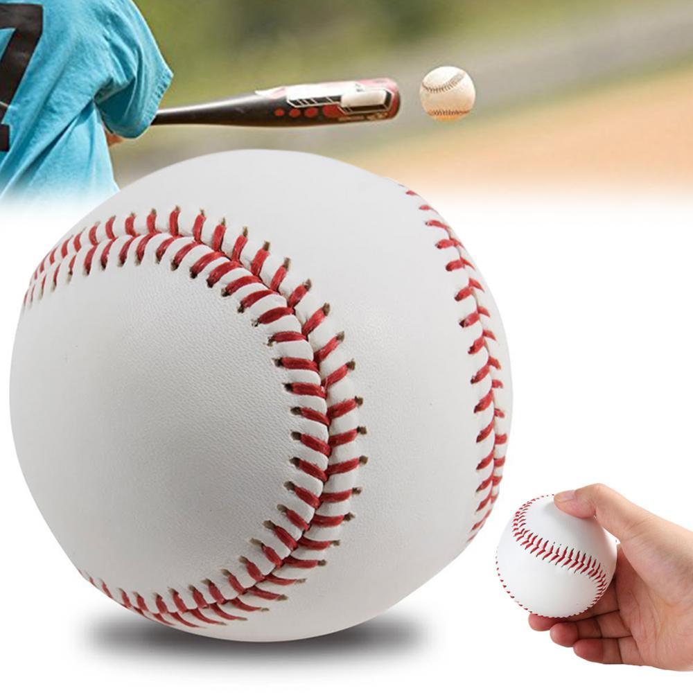Хит продаж 80%, 9 дюймов, профессиональный резиновый бейсбольный мяч для соревнований, игры, тренировок, упражнений