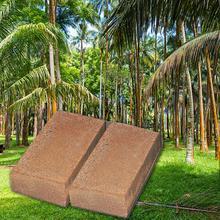 Plante naturelle verte stérile 650g   Nutriment en Fiber de noix de coco, brique peut être utilisé comme jardinage, légumes sur le sol