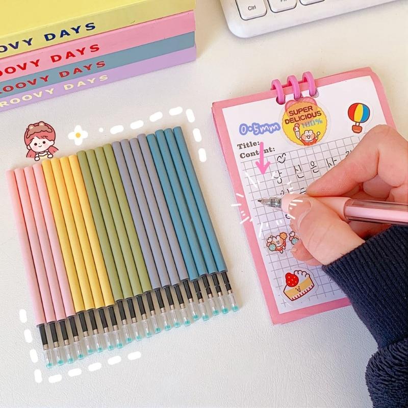 5-pce-set-nero-05mm-penna-inchiostro-gel-ricariche-studente-cancelleria-ufficio-scuola-strumento-di-scrittura