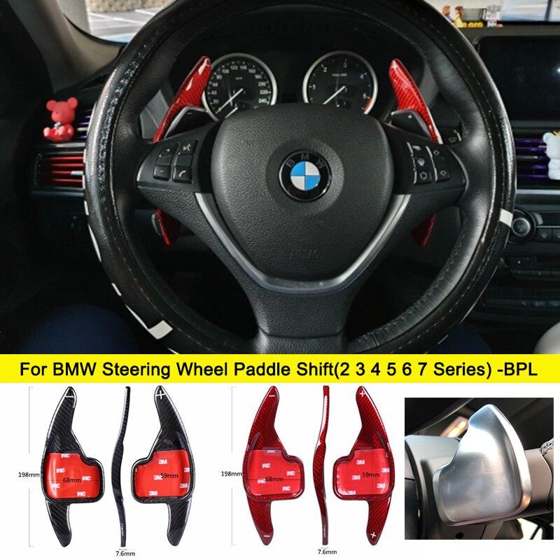 Palettes de changement de volant en Fiber de carbone   Pour BMW F22 F45 F46 F30 F31 F35 F34 F32 333 F36 F80 F82 F10 F11 F06 F12 F13