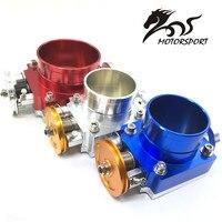 100MM CNC Aluminum High Flow Air Intake Manifold Engine Throttle Body