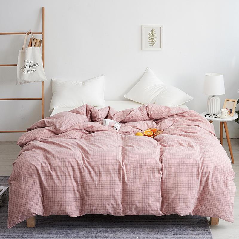 نقية غطاء لحاف من القطن سرير مريح المنسوجات المنزلية الصغيرة الطازجة نمط غطاء لحاف مناسبة للنوم عارية