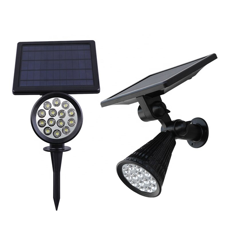 Solar Ground Plug Spotlight Floodlight LED Lawn Light Control Garden Light Outdoor Waterproof Floodlight Super Bright Solar Lamp enlarge