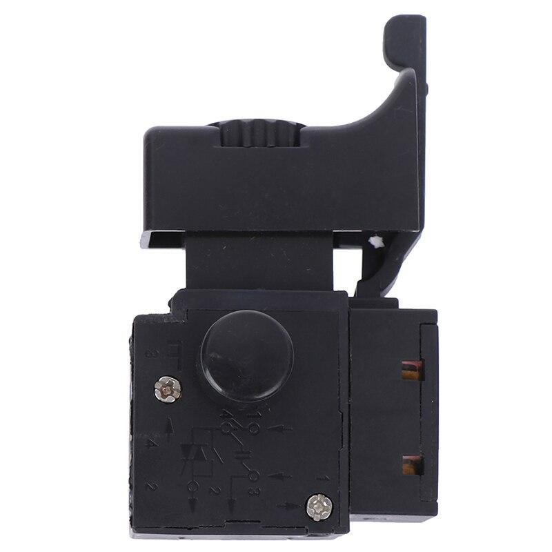 HUXUAN nuevo 1 Pza FA2-6/1BEK Lock On Power Tool taladro eléctrico Control de velocidad disparador interruptor 6 (6) A 250V 5E4 gran oferta