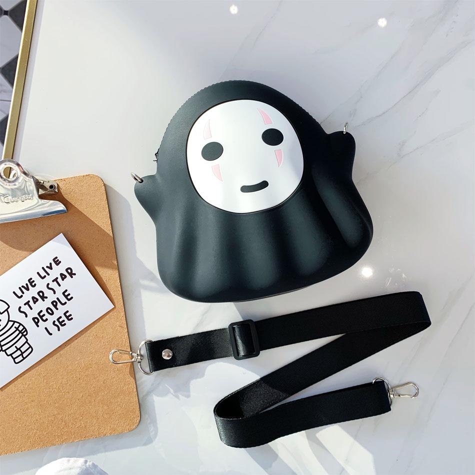 Sinocom Handa Japan Anime Faceless Spirited Away Bag No Face Man Bag Phone Bag Case for daily supplies