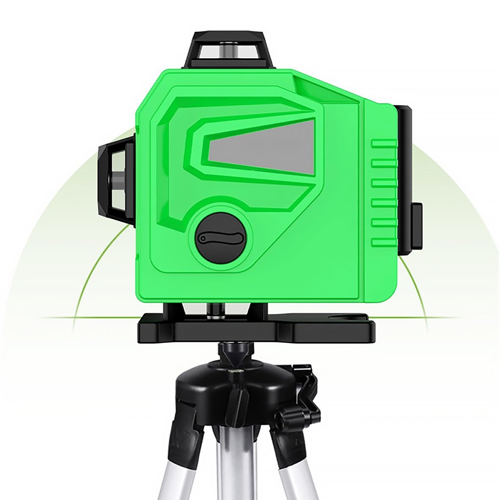Laser Level 16 Lines 3D Self-Leveling Green Laser Level Horizontal Vertical Cross Lines With Auto Self-Leveling Indoors Outdoors