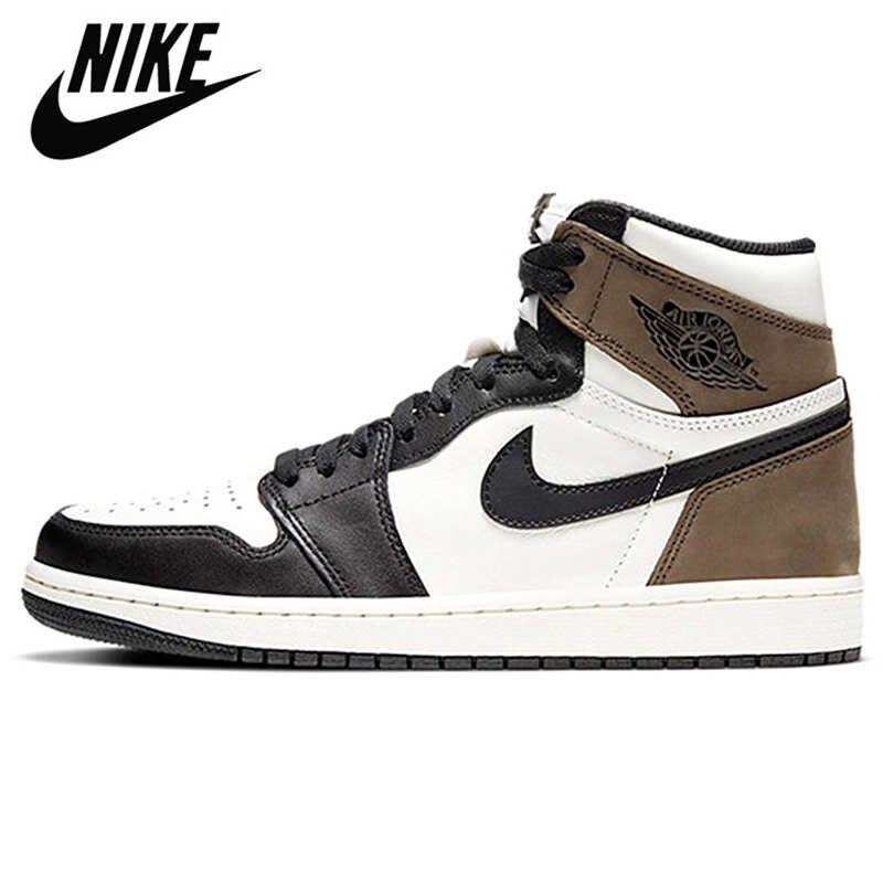 Nike-Zapatillas De baloncesto Air Jordan Retro 1 para Hombre, calzado deportivo, baloncesto,...