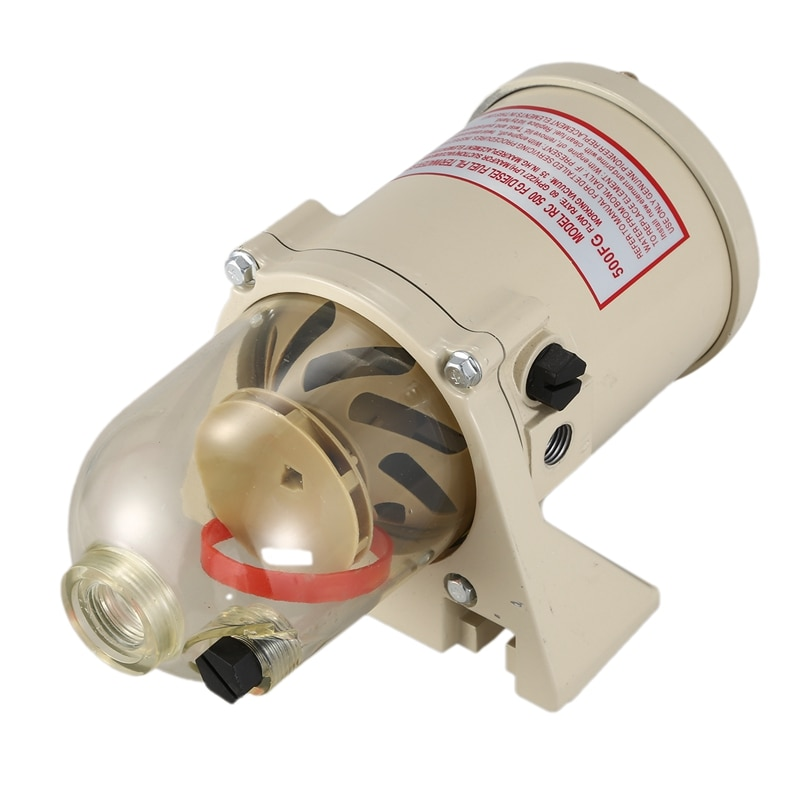 Filtro de filtro 500FG/FH partes modificadas del barco separador de agua de combustible separador de agua de filtro de combustible marino con calentador