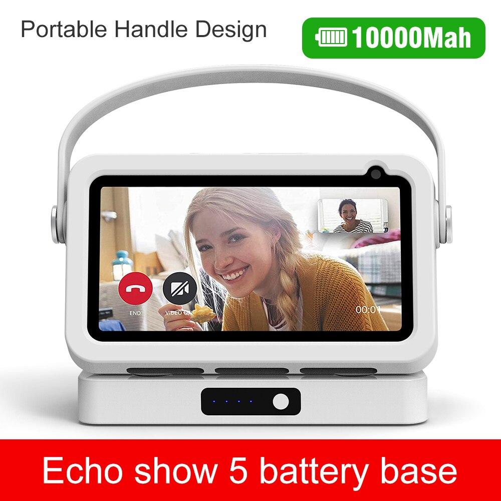 Liboer-Base de batería para Amazon Echo Show 5, base de batería para...