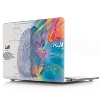 brain painting hard case cover for macbook air 13 11 pro 12 13 15 15 4 16 protective shell sleeve for apple mac pro air 13 case